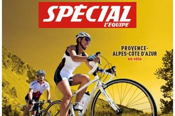Les Hautes-Alpes font grimper le Tour de France 2017 dans l'Equipe Magazine